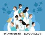vector flat illustration group...   Shutterstock .eps vector #1699996696