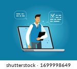 business services provided... | Shutterstock .eps vector #1699998649