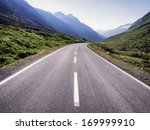 country road at the european... | Shutterstock . vector #169999910