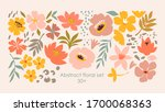 set of hand drawn shapes and... | Shutterstock .eps vector #1700068363
