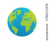 world icon for graphic design... | Shutterstock .eps vector #1700172370