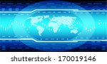 hi tech background  eps10... | Shutterstock .eps vector #170019146