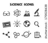 science icons  mono vector...   Shutterstock .eps vector #170028638