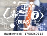 Small photo of Bias Discrimination Business Work Office Employee Career Concept. Injustice Social Gender Problem.