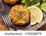 Organic Homemade Crab Cakes...