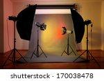 photo studio with lighting... | Shutterstock . vector #170038478