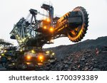 Bucket Wheel Excavator In A...