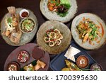 Complete Thai Menu Food Set