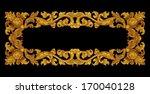 ornament elements  vintage gold ... | Shutterstock . vector #170040128