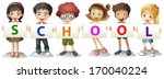 illustration of the kids...   Shutterstock .eps vector #170040224
