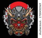 Japanese Hannya Oni Mask ...