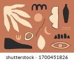 abstract poster. minimalist...   Shutterstock .eps vector #1700451826