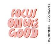 minimalist vector lettering....   Shutterstock .eps vector #1700462056