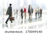 abstrakt image of people in the ... | Shutterstock . vector #170049140