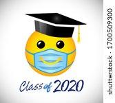 creative graduation greeting... | Shutterstock .eps vector #1700509300