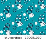 seamless vector pattern with... | Shutterstock .eps vector #170051030