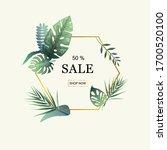 summer time banner on pastel...   Shutterstock .eps vector #1700520100