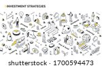 investing strategies  styles  ... | Shutterstock .eps vector #1700594473