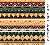 tribal vector seamless pattern. ...   Shutterstock .eps vector #1700628766