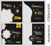 Set Ramadan Sale Banner...