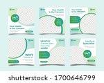 health banner template for...   Shutterstock .eps vector #1700646799