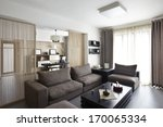 elegant and comfortable home... | Shutterstock . vector #170065334