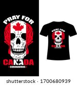 pray for the canada corona... | Shutterstock .eps vector #1700680939