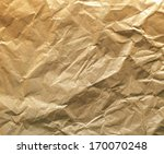 frontal view of crumbled baking ... | Shutterstock . vector #170070248