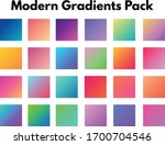 set of colorful ui gradients