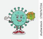 an illustration of blue virus... | Shutterstock .eps vector #1700767216
