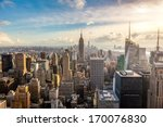 new york city skyline | Shutterstock . vector #170076830