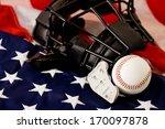baseball  ball with umpire's...   Shutterstock . vector #170097878