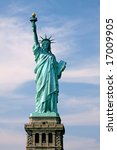 Statue Of Lady Liberty In New...
