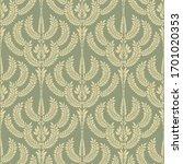 damascus seamless wallpaper.... | Shutterstock .eps vector #1701020353