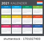 vector template of color 2021... | Shutterstock .eps vector #1701027403