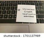 A Handwritten Note On A...