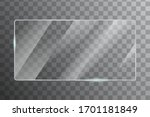 glass with reflection effect in ... | Shutterstock .eps vector #1701181849