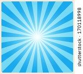 white rays background.... | Shutterstock .eps vector #170118998