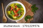 Thai Food Green Curry Chicken...