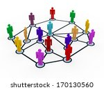 3d illustration of people... | Shutterstock . vector #170130560