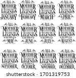 all mother are created equal... | Shutterstock .eps vector #1701319753