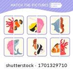 matching children educational...   Shutterstock .eps vector #1701329710
