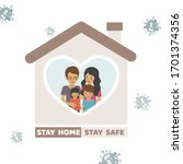 illustration vector sign and... | Shutterstock .eps vector #1701374356