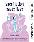 Vaccination Saves Lives Poster...