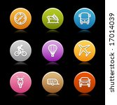 color circle web icons  set 20 | Shutterstock .eps vector #17014039