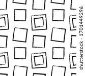 brush strokes. vector pattern... | Shutterstock .eps vector #1701449296