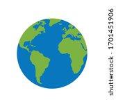 world icon for graphic design...   Shutterstock .eps vector #1701451906