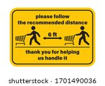 vector yellow rectangle sticker ...   Shutterstock .eps vector #1701490036