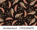 uninterrupted pattern of... | Shutterstock . vector #1701534670