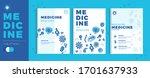 modern medicine brochure... | Shutterstock .eps vector #1701637933